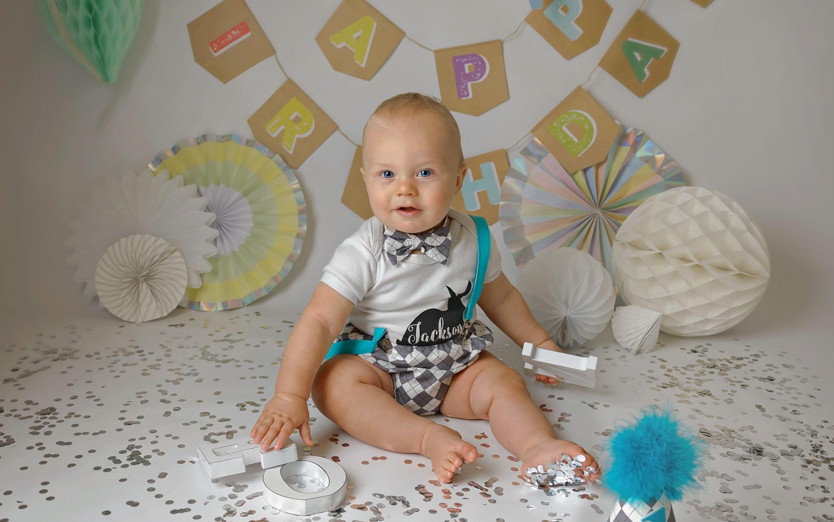 first birthday shoot