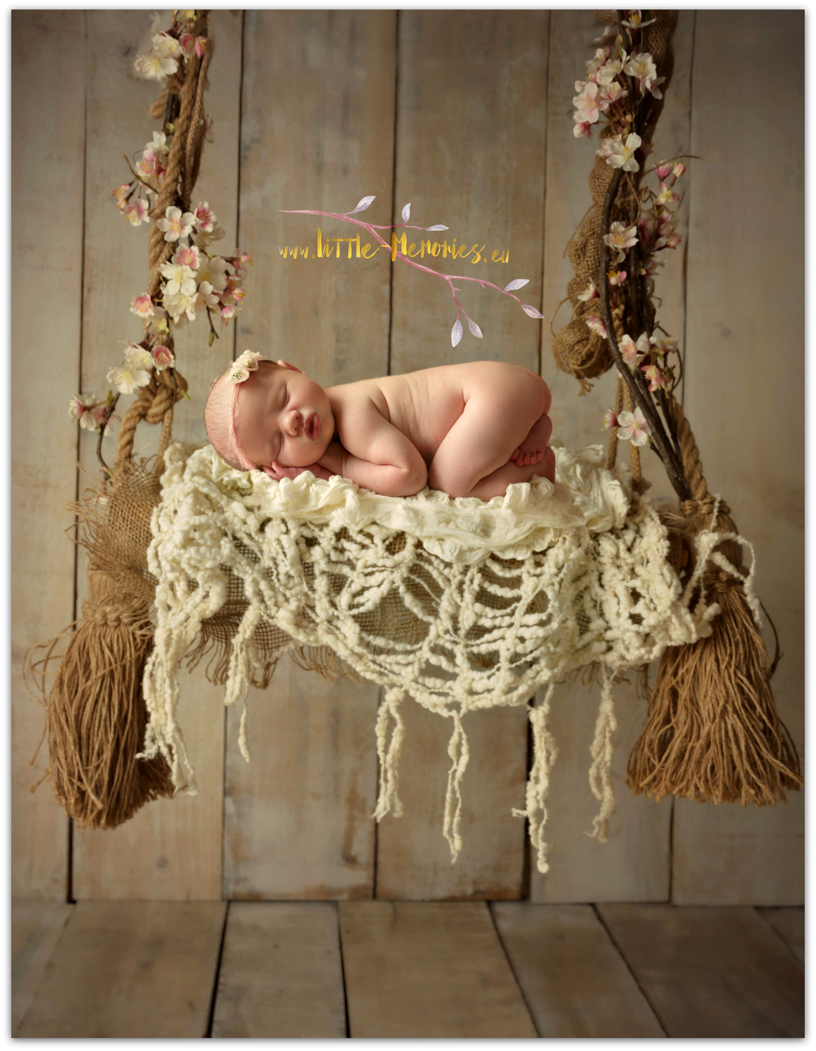 newborn swing photography