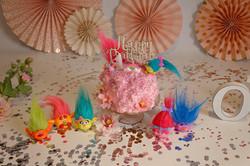 girl cake smash session