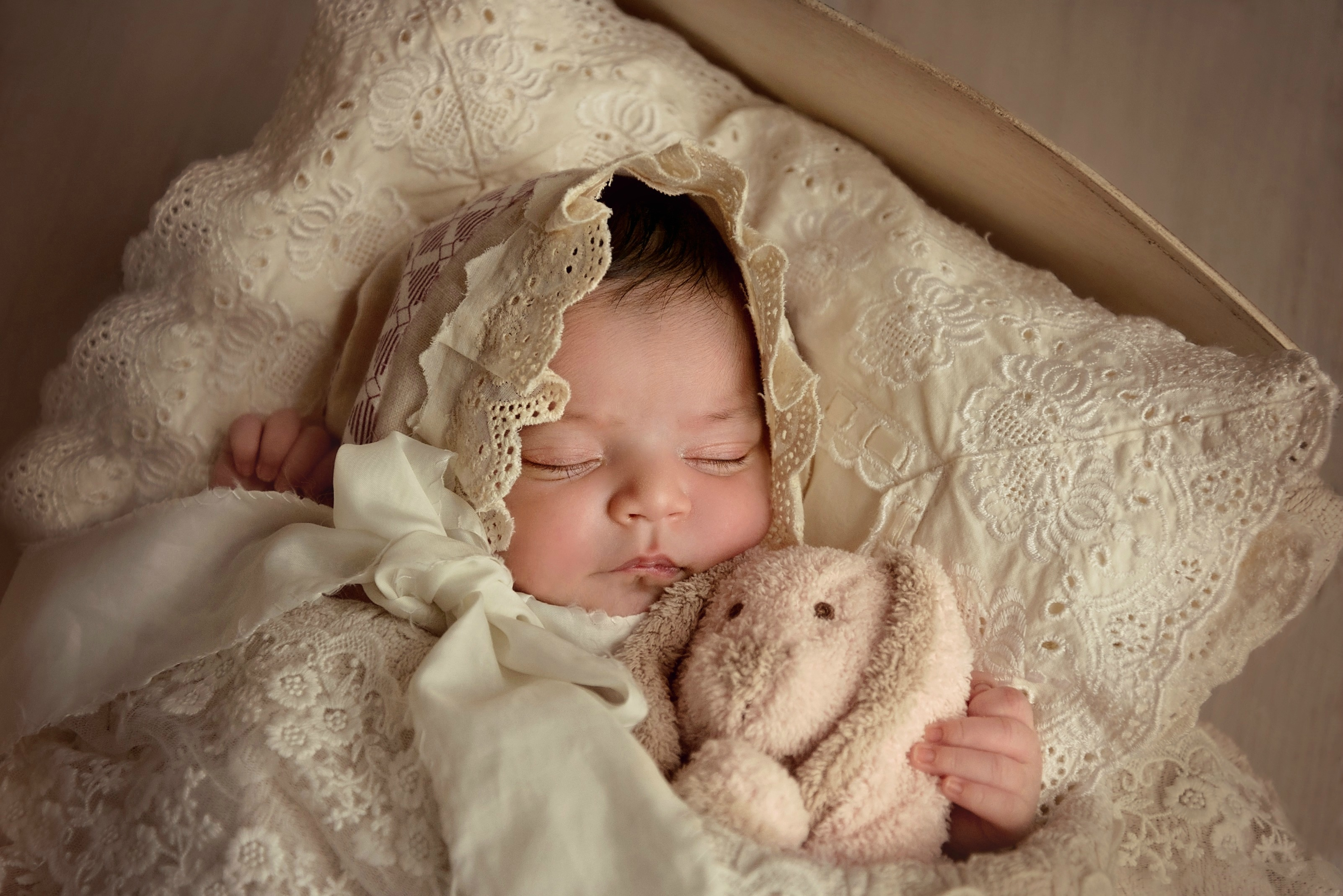 newborn beautiful doll