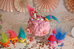 Beautiful KITTY Cake Smash - Trolls inspired Birthday Session | London Kids Photographer