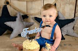 smash cake boy 1st Birthday
