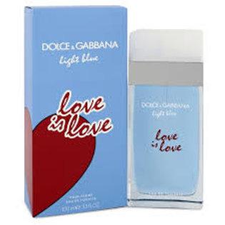 Dolce & Gabbana - Light Blue - Love is Love - Edt