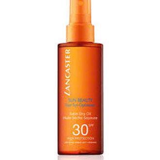LANCASTER -  Fast Tanning Optimizer - Satin dry oil 30spf