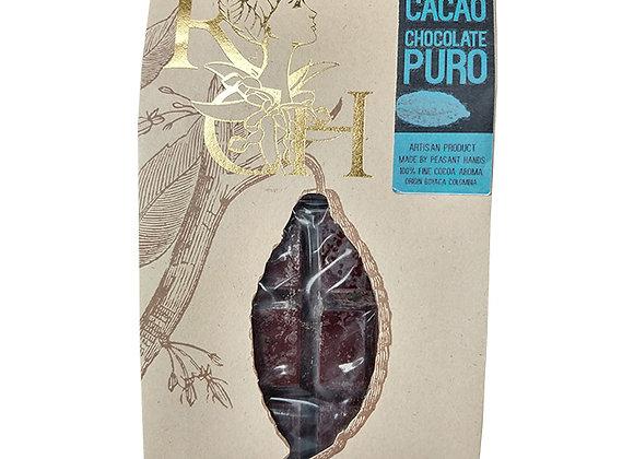 Chocolate 100% Puro en Pastilla - 250g