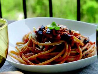 잔잔한 여운... 노르마 파스타 (Pasta alla Norma)