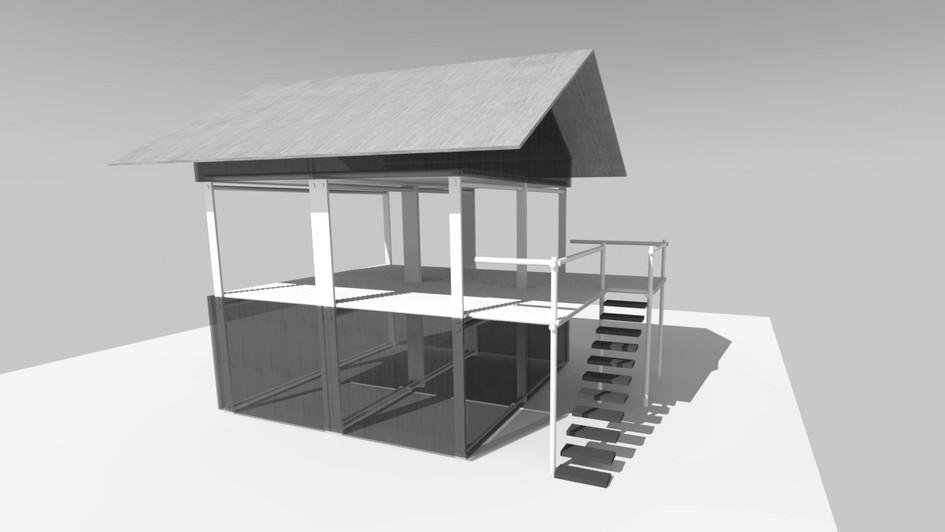 habitat modulaire resilient