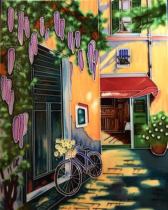 Cafe Arles- Arles, France- Ceramic Tile