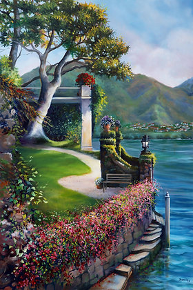 Lake Como Morning- Italy- Limited Edition
