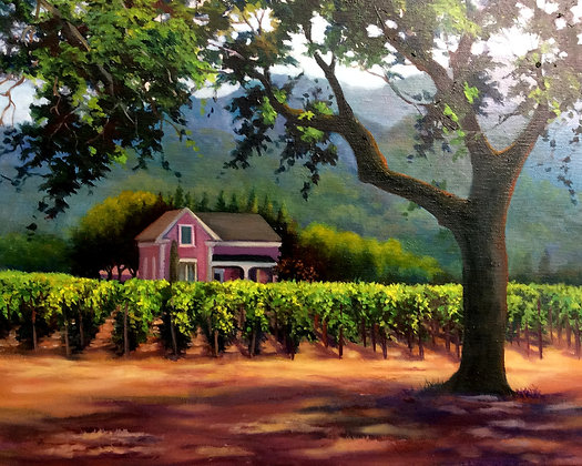 Napa Winery- Napa, CA- Limited Edition