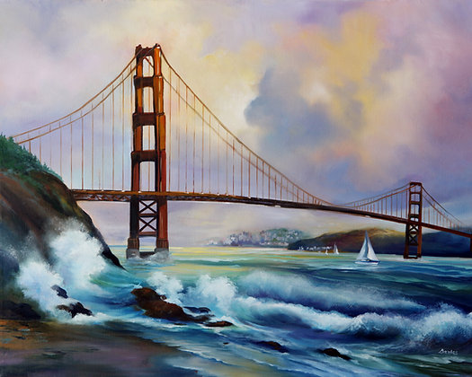 Golden Gate- San Francisco, CA- Limited Edition