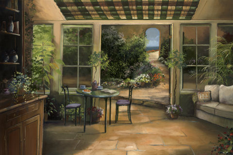 Garden View- Provence, France- Limited Edition
