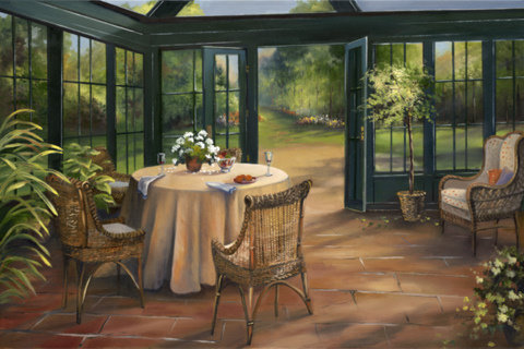 Garden Room- Provence, France- Limited Edition