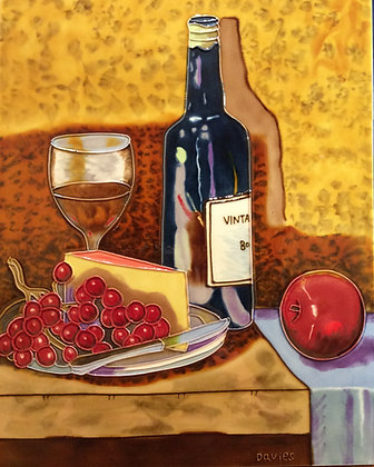 Port and Cheese-Ceramic Tile