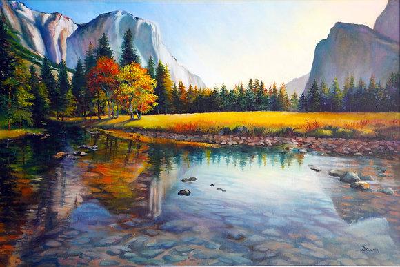 Yosemite Reflections- Yosemite,CA- Limited Edition