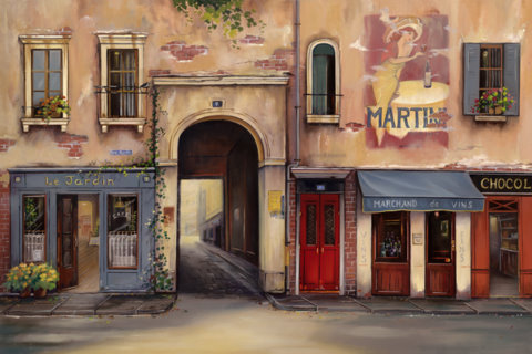 Martini- Aix en Provence, France- Limited Edition