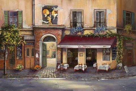 La Moretta- Rome, Italy- Limited Edition
