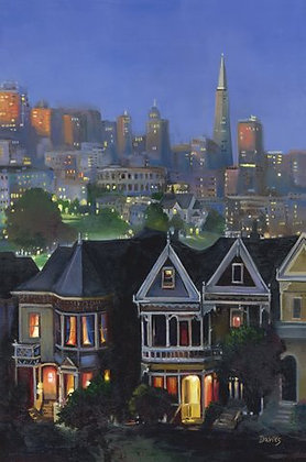 Victorians- San Francisco, CA- Limited Edition