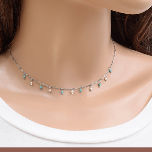 The Tiffany Necklace, 925 Silver