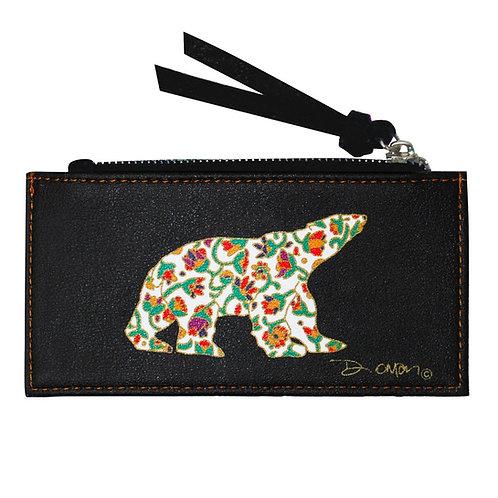 Dawn Oman Spring Bear Card Holder