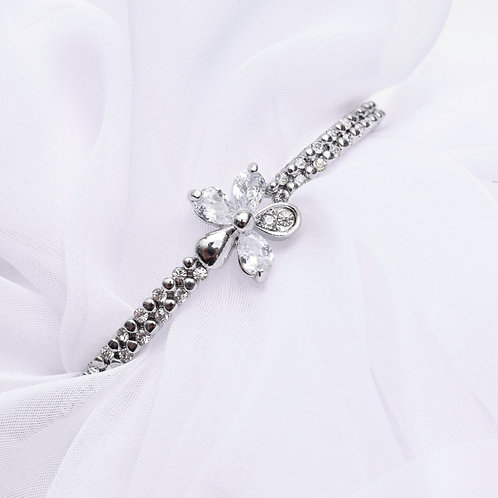 The Flouncy Floral Bracelet