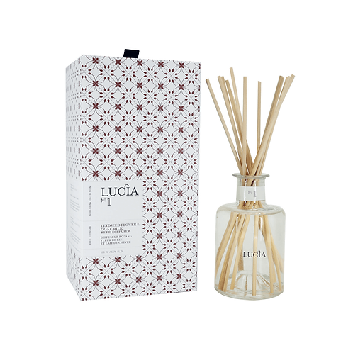 Lucia No.1 Diffuser Lindseed Flower & Goatmilk