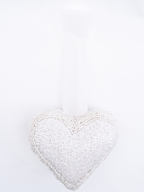 The Hanging Beaded Heart (Lrg)