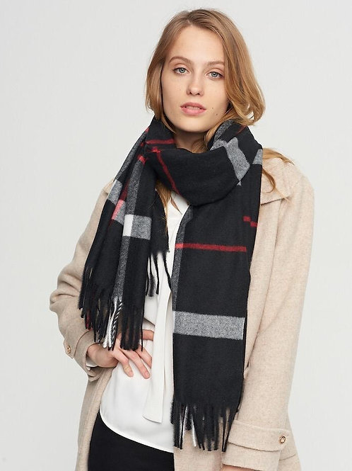 The Uptown Scarf, Black