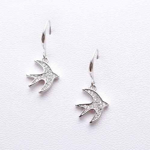 Love Dove Earrings