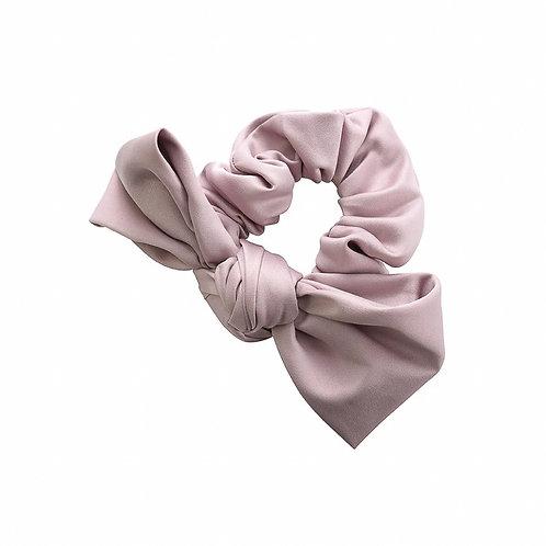 Large Satin Bow Scrunchie