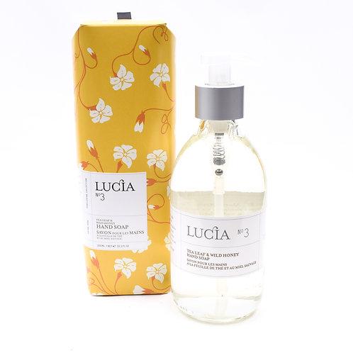 Lucia No.3 Tea Leaf & Honey Flower Soap