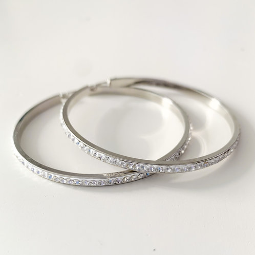 The Halo Hoops, Stainless Steel 60mm