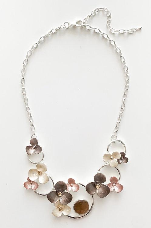 The Floral Gem Necklace