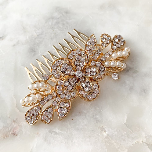 The Tara Hair Comb, Gold