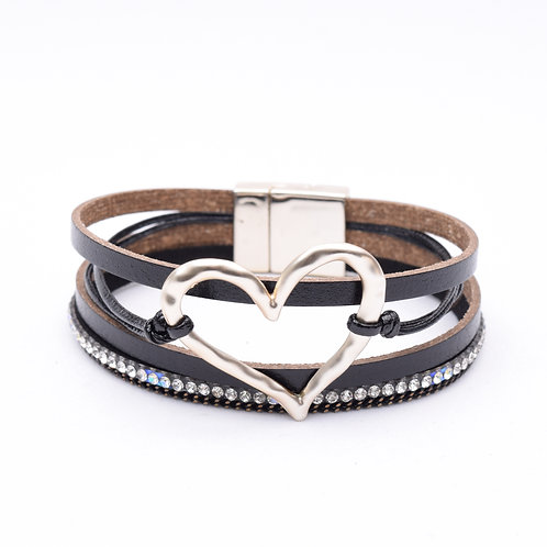The Adore Leather Bracelet