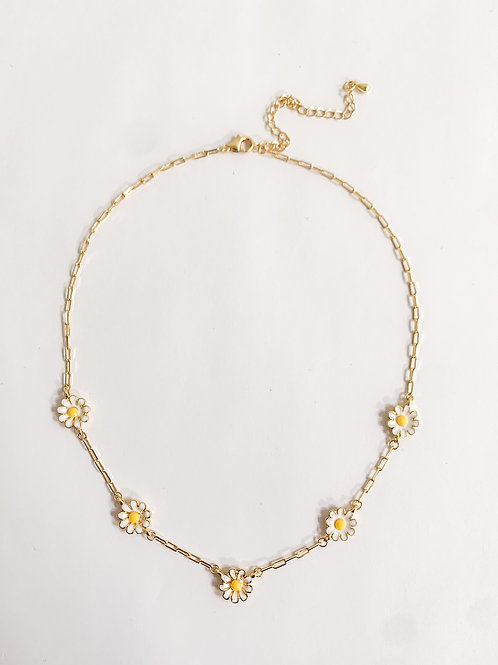 The Daisy Necklace, Gold