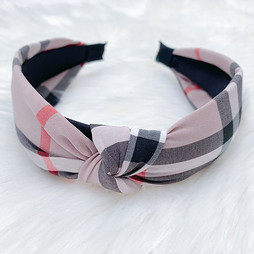 The Bonnie Luxury Headband, Pink