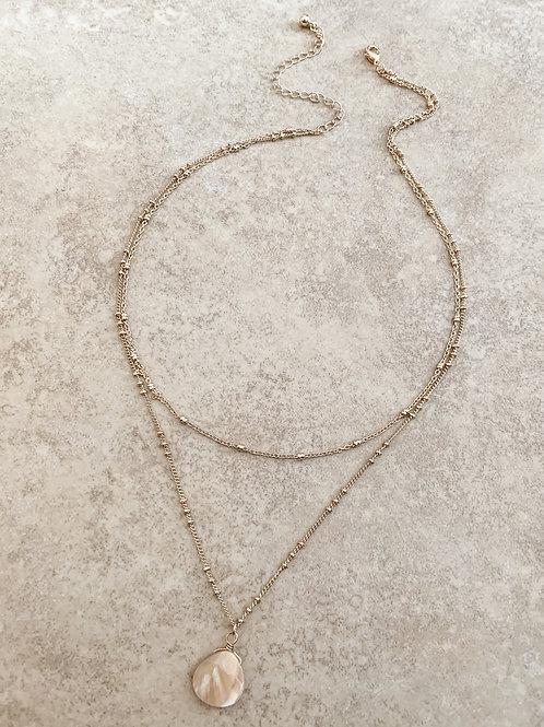 The Precious Gem Necklace, Tan