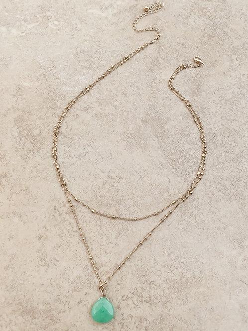 The Precious Gem Necklace, Green