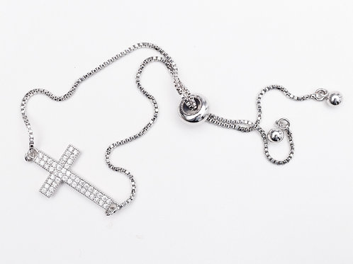 The Cubic Cross Bracelet