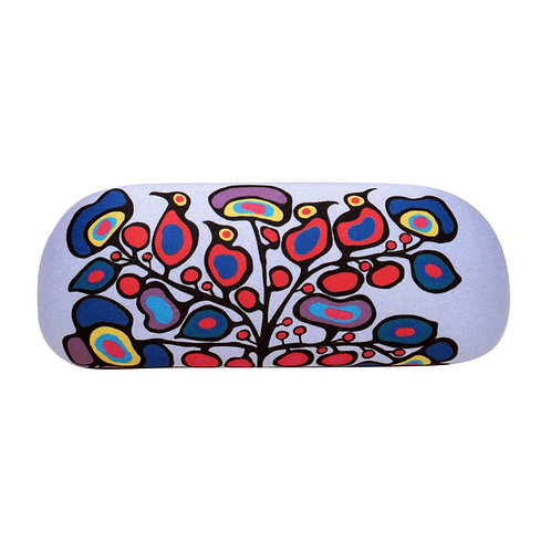 Norval Morrisseau Woodland Floral Eyeglasses Case