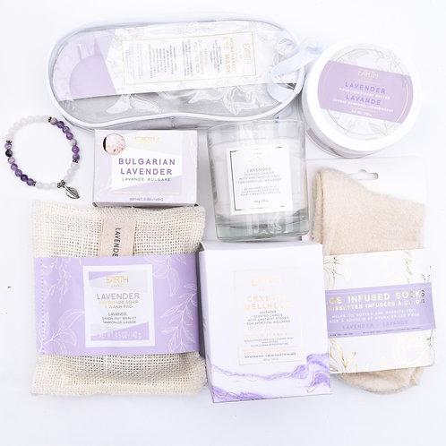 Lavender 7 Piece Self Care Set