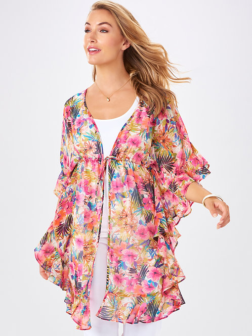 The Tropical Flirt Kimono