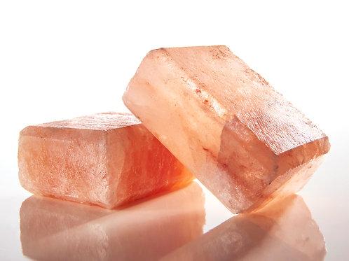 Himalayan Crystal Salt Scrub Bar