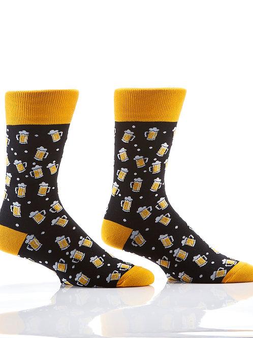Men's Crew Sock, Beer Steins
