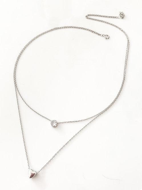 Spark My Heart 925 Necklace