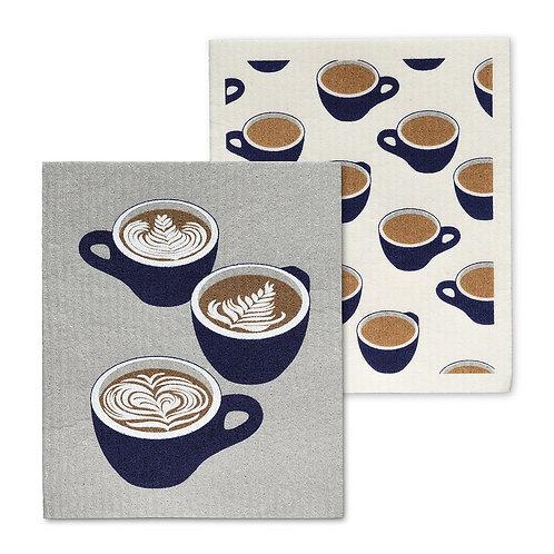 Coffee Lover Dishcloth Set