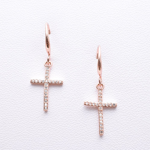 The Cubic Cross, Rose Gold