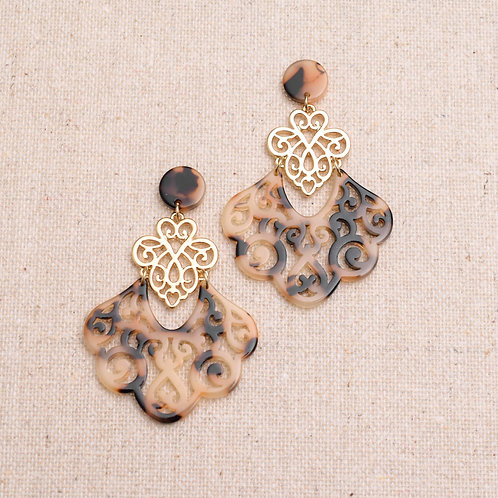 The Filigree Flirt Earring