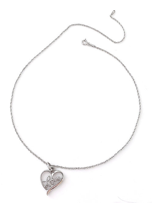 Heart of Love 925 Necklace